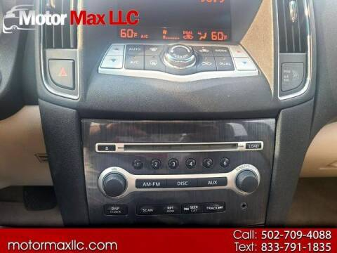 2013 Nissan Maxima for sale at Motor Max Llc in Louisville KY