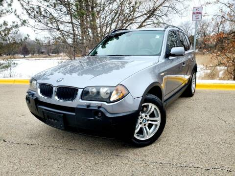 2005 BMW X3 for sale at Excalibur Auto Sales in Palatine IL