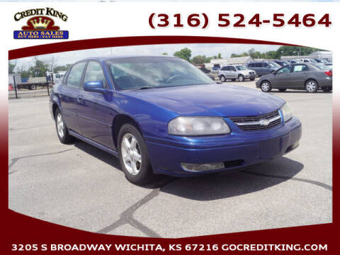 2005 Chevrolet Impala for sale at Credit King Auto Sales in Wichita KS
