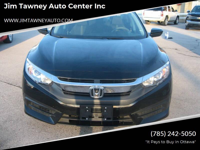 2017 Honda Civic for sale at Jim Tawney Auto Center Inc in Ottawa KS