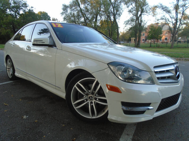 2012 Mercedes-Benz C-Class for sale at Sunshine Auto Sales in Kansas City MO