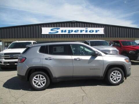 2019 Jeep Compass for sale at SUPERIOR CHRYSLER DODGE JEEP RAM FIAT in Henderson NC