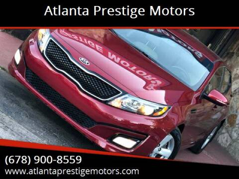 2014 Kia Optima for sale at Atlanta Prestige Motors in Decatur GA