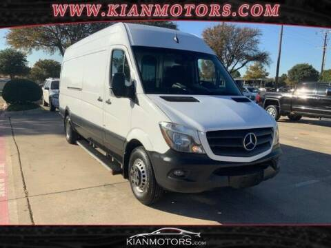 2016 Mercedes-Benz Sprinter Cargo for sale at KIAN MOTORS INC in Plano TX