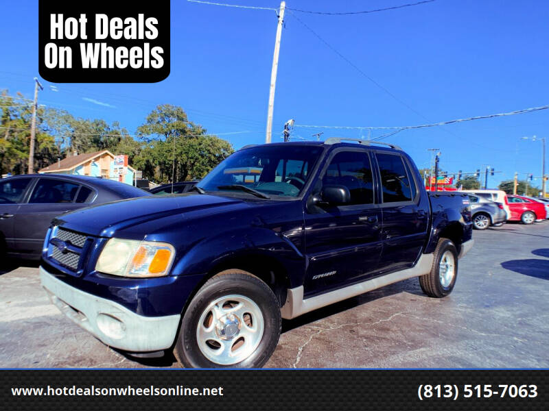 2002 Ford Explorer Sport Trac for sale at Hot Deals On Wheels in Tampa FL