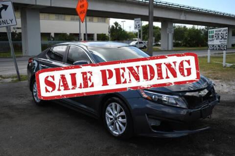 2015 Kia Optima for sale at ELITE MOTOR CARS OF MIAMI in Miami FL