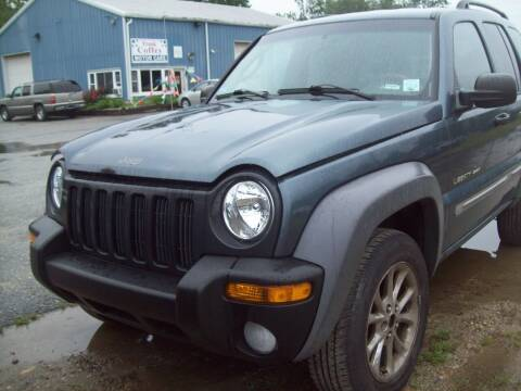 2002 Jeep Liberty for sale at Frank Coffey in Milford NH