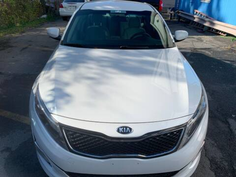 2015 Kia Optima for sale at DARS AUTO LLC in Schenectady NY