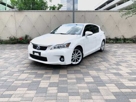 2012 Lexus CT 200h for sale at ROGERS MOTORCARS in Houston TX