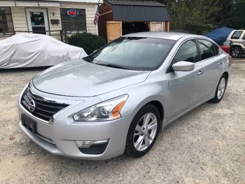 2013 Nissan Altima for sale at Deme Motors in Raleigh NC