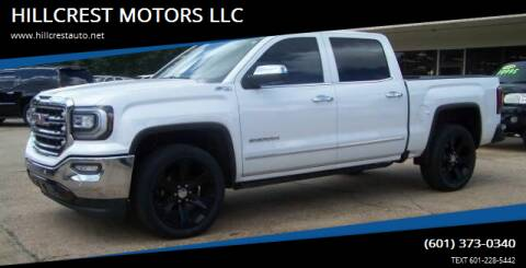 2016 GMC Sierra 1500 for sale at HILLCREST MOTORS LLC in Byram MS