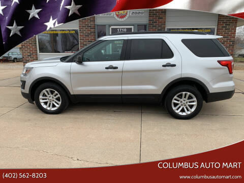 2016 Ford Explorer for sale at Columbus Auto Mart in Columbus NE