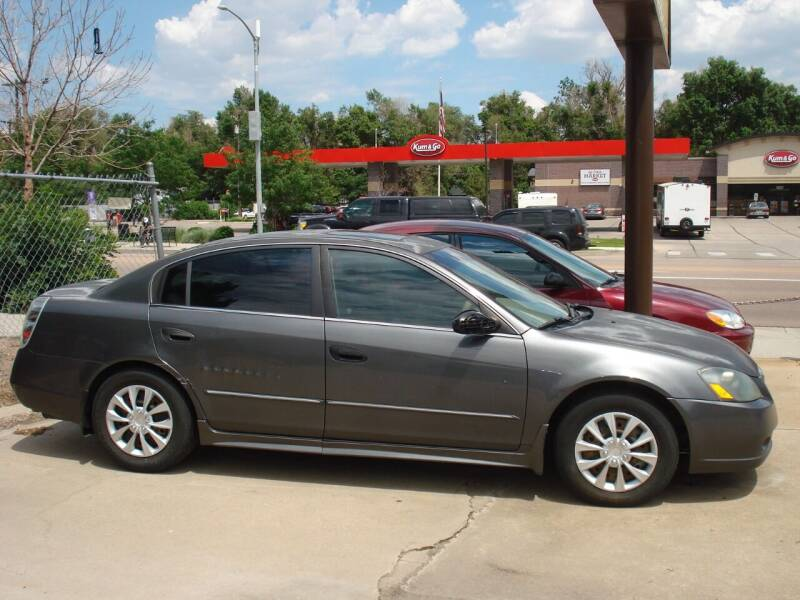 2005 Nissan Altima for sale at Frontier Motors Ltd in Colorado Springs CO