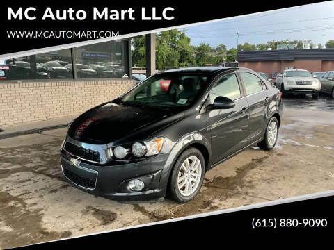 2015 Chevrolet Sonic for sale at MC Auto Mart LLC in Hermitage TN