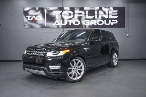 2016 Land Rover Range Rover Sport for sale at TOPLINE AUTO GROUP in Kent WA