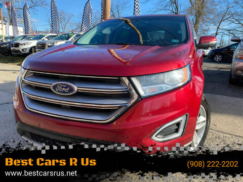 2017 Ford Edge for sale at Best Cars R Us in Plainfield NJ
