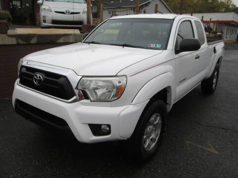 2013 Toyota Tacoma for sale at WORKMAN AUTO INC in Pleasant Gap PA