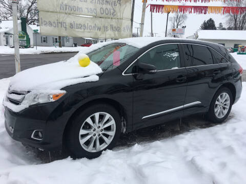 2013 Toyota Venza for sale at Antique Motors in Plymouth IN