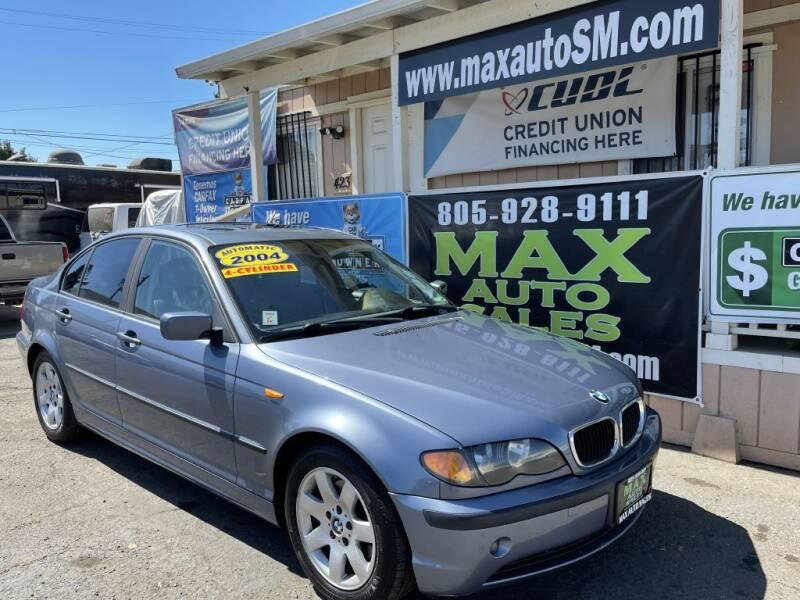 2004 BMW 3 Series for sale at Max Auto Sales in Santa Maria CA