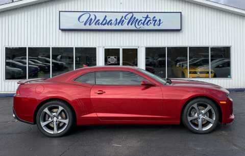 2014 Chevrolet Camaro for sale at Wabash Motors in Terre Haute IN