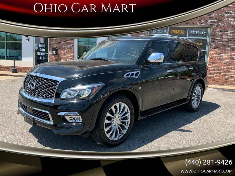 2015 Infiniti QX80 for sale at Ohio Car Mart in Elyria OH