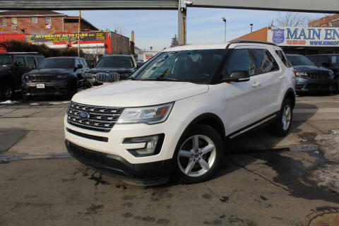 2017 Ford Explorer for sale at MIKEY AUTO INC in Hollis NY