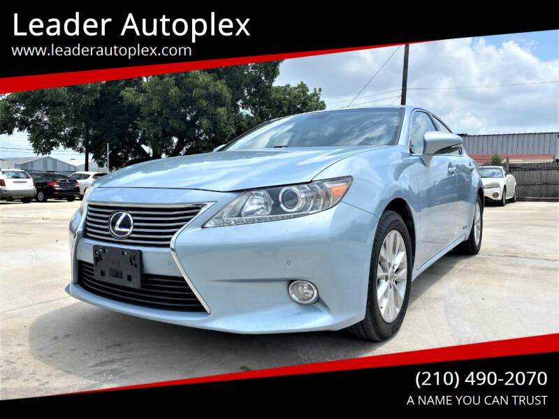 2013 Lexus ES 300h for sale at Leader Autoplex in San Antonio TX