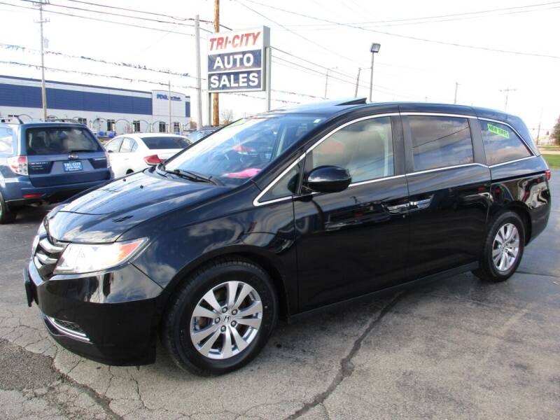 2015 Honda Odyssey for sale at TRI CITY AUTO SALES LLC in Menasha WI