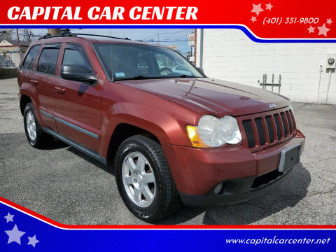 2008 Jeep Grand Cherokee for sale at CAPITAL CAR CENTER in Providence RI