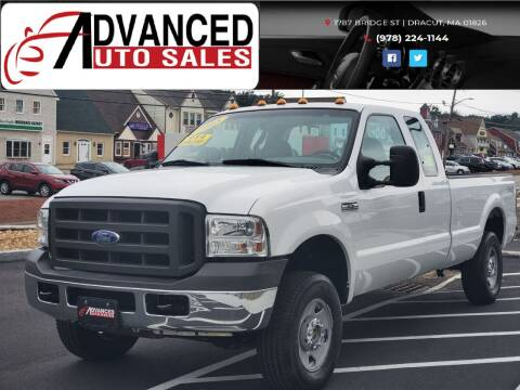 2005 Ford F-250 Super Duty for sale at Advanced Auto Sales in Dracut MA