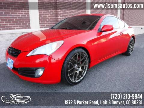 2012 Hyundai Genesis Coupe for sale at SAM'S AUTOMOTIVE in Denver CO