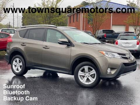 2013 Toyota RAV4 for sale at Town Square Motors in Lawrenceville GA