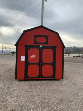 2021 Shed 10x16 Lofted Barn 7' Walls for sale at Auto Image Auto Sales in Pocatello ID