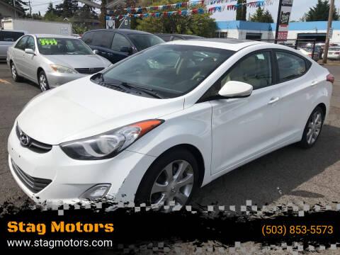 2011 Hyundai Elantra for sale at Stag Motors in Portland OR