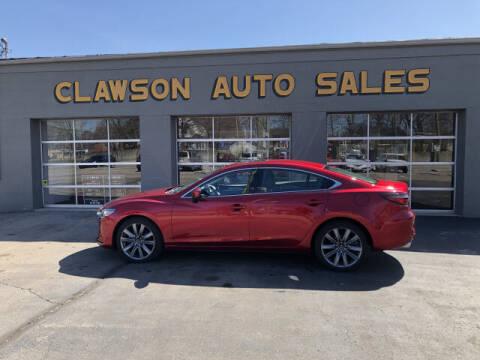 2018 Mazda MAZDA6 for sale at Clawson Auto Sales in Clawson MI