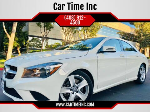 2016 Mercedes-Benz CLA for sale at Car Time Inc in San Jose CA