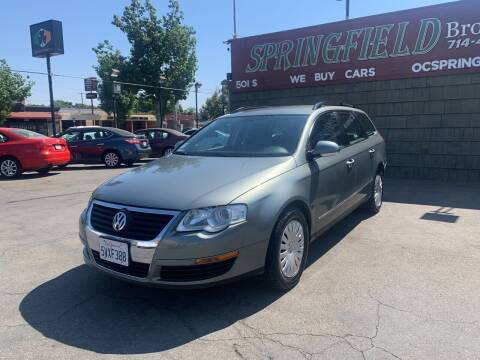 2007 Volkswagen Passat for sale at SPRINGFIELD BROTHERS LLC in Fullerton CA