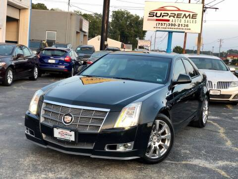 2008 Cadillac CTS for sale at Supreme Auto Sales in Chesapeake VA