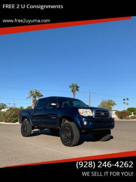 2007 Toyota Tacoma for sale at FREE 2 U Consignments in Yuma AZ