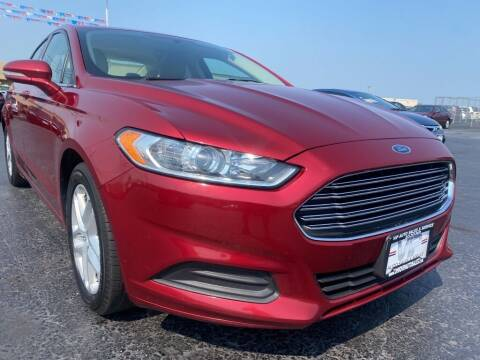 2015 Ford Fusion for sale at VIP Auto Sales & Service in Franklin OH