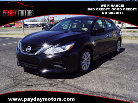 2016 Nissan Altima for sale at Payday Motors in Wichita And Topeka KS