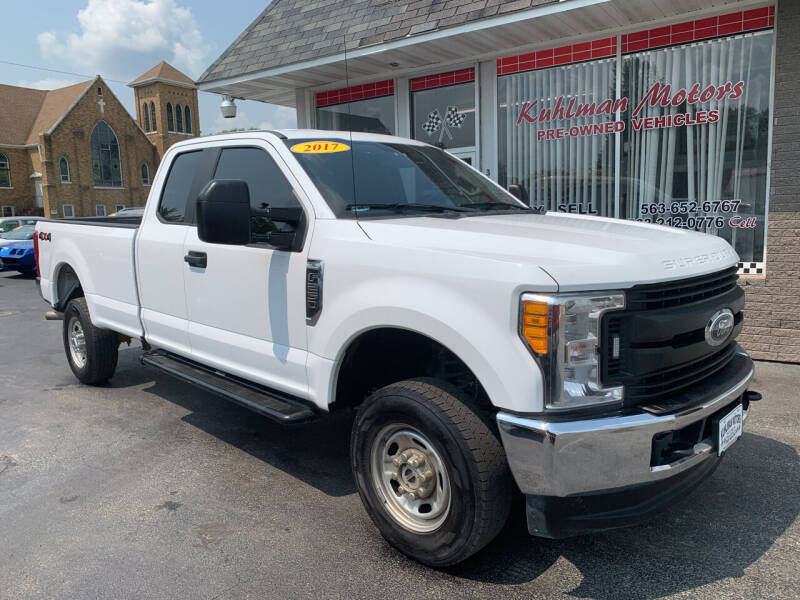 2017 Ford F-250 Super Duty for sale at KUHLMAN MOTORS in Maquoketa IA