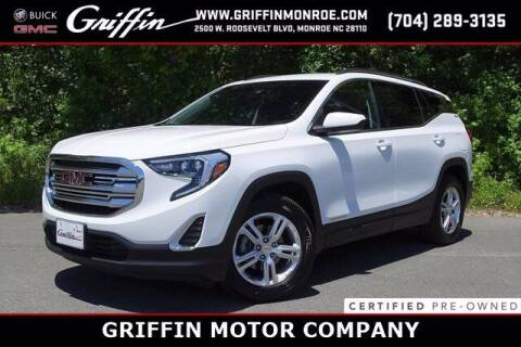 2019 GMC Terrain for sale at Griffin Buick GMC in Monroe NC