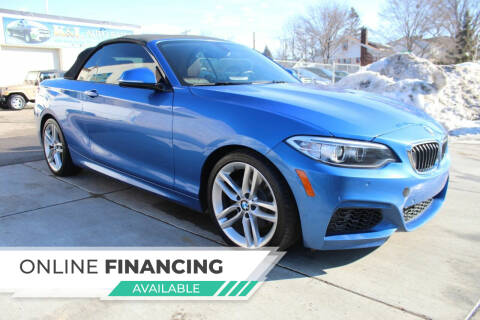 2015 BMW 2 Series for sale at K & L Auto Sales in Saint Paul MN