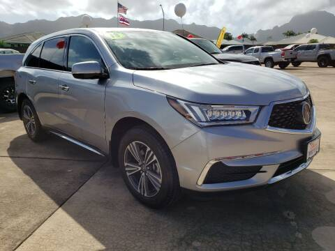 2018 Acura MDX for sale at Ohana Motors in Lihue HI