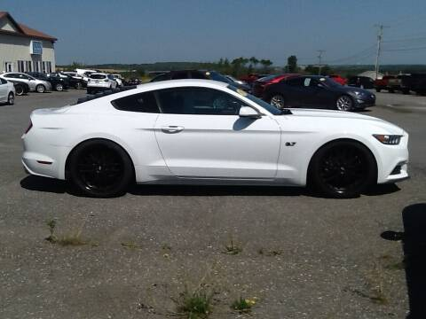 2017 Ford Mustang for sale at Garys Sales & SVC in Caribou ME