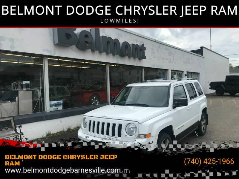 2016 Jeep Patriot for sale at BELMONT DODGE CHRYSLER JEEP RAM in Barnesville OH