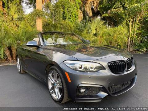 2019 BMW 2 Series for sale at Autohaus of Naples in Naples FL