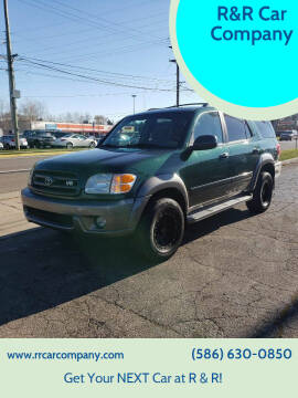 2003 Toyota Sequoia for sale at R&R Car Company in Mount Clemens MI