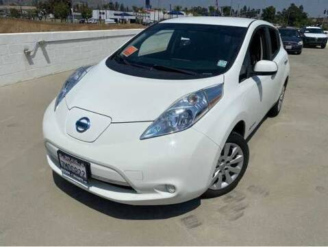 2014 Nissan LEAF for sale at CENTURY MOTORS in Fresno CA